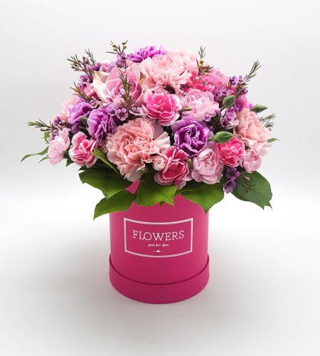 """Box kwiatowy """"Różowy"""""""