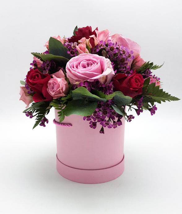 """Box kwiatowy """"Słodki pocałunek"""""""