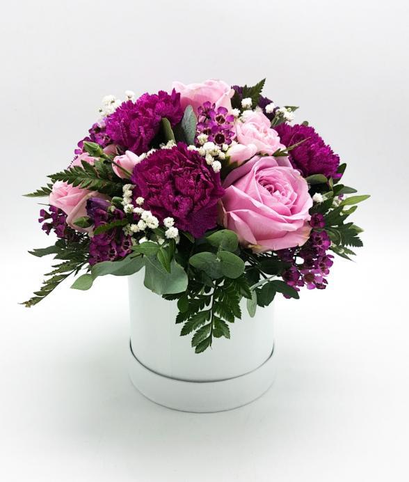 """Box kwiatowy """"Odcienie różu"""""""