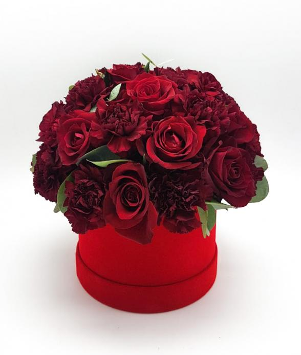 "Box kwiatowy ""Love You"""