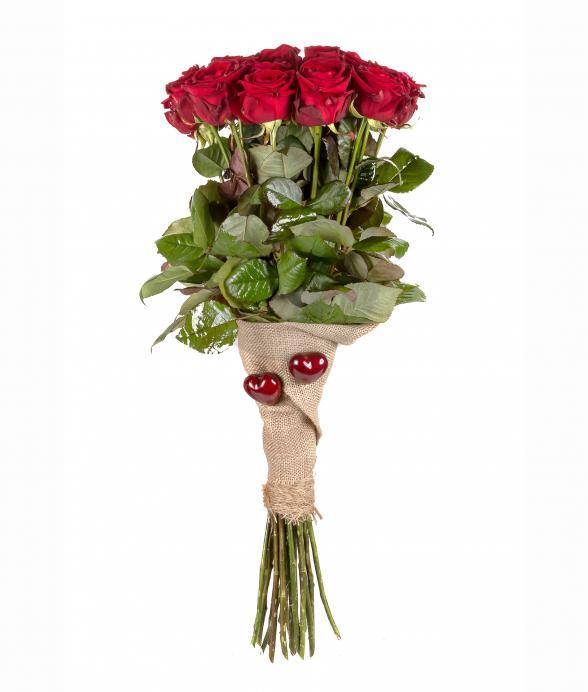 Bukiet z 20 czerwonych róż