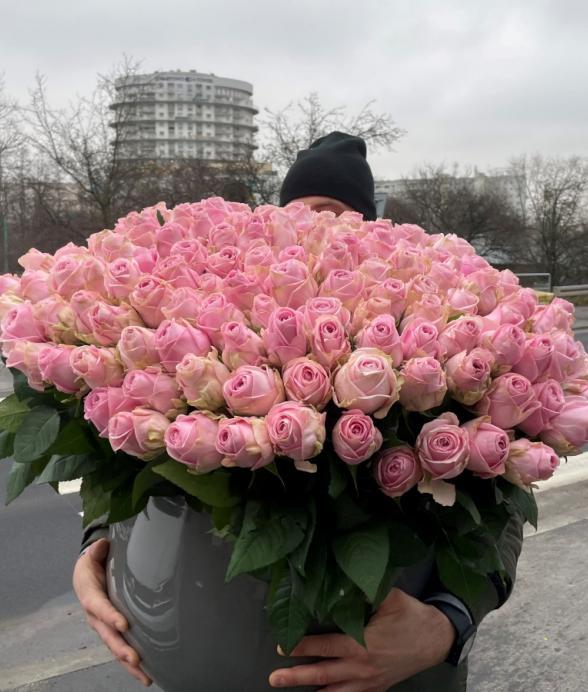 """Kompozycja """"250 różowych cudów"""""""