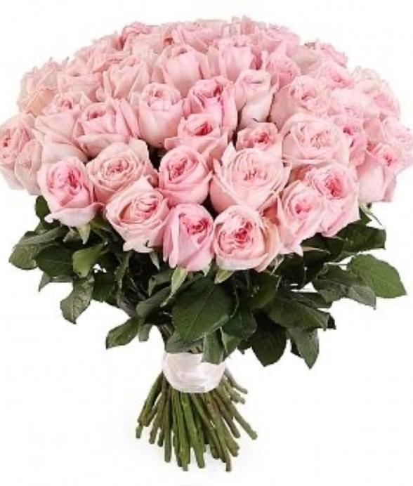 """Bukiet """"50 różowych róż"""""""